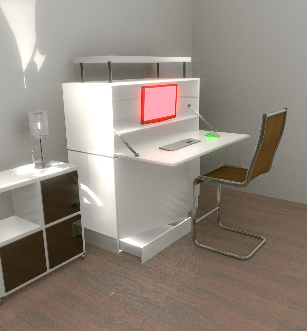 biurko ikea składane