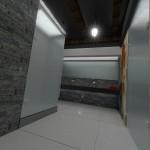 łazienka w białej