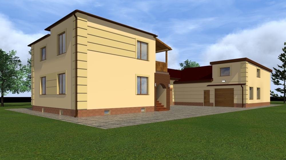 #termomodernizacja, #elewacjadomu, #projektelewacjidomu, projekt elewacji domu